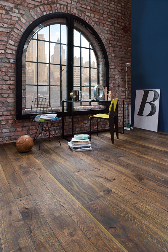 Urban Oak Tobacco Solid plank